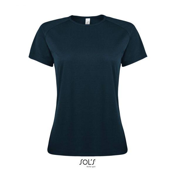 Camiseta Sporty Women Mujer Sols - Azul Petróleo
