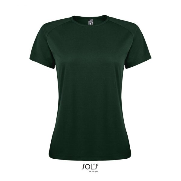 Camiseta Sporty Women Mujer Sols - Verde Bosque