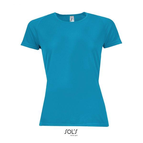 Camiseta Sporty Women Mujer Sols - Aqua