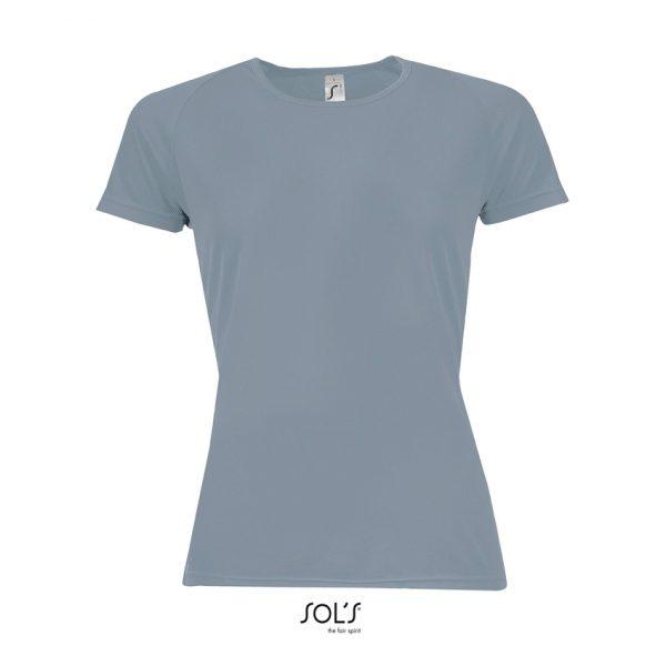 Camiseta Sporty Women Mujer Sols - Gris Puro
