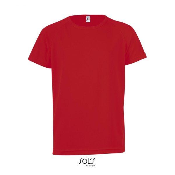 Camiseta Sporty Kids Niño Sols - Rojo