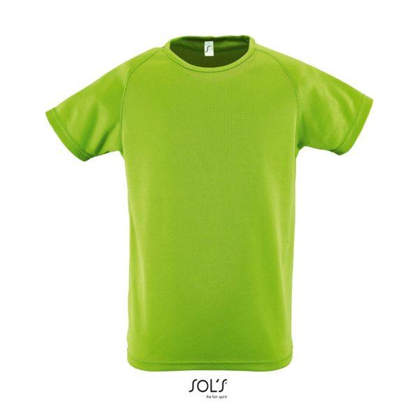 Camiseta Sporty Kids Niño Sols - Verde Manzana