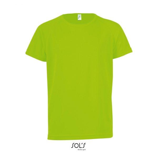 Camiseta Sporty Kids Niño Sols - Verde Neón