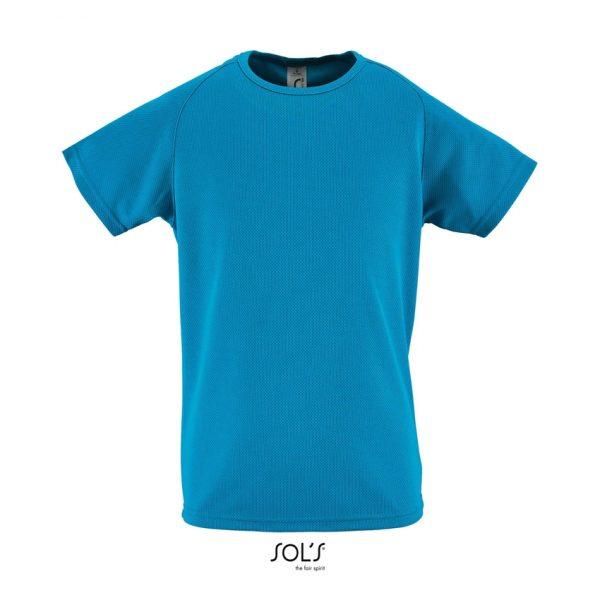 Camiseta Sporty Kids Niño Sols - Aqua