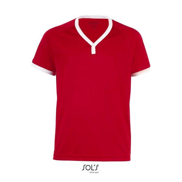 Camiseta Atletico Kids Niño Sols - Rojo / Blanco