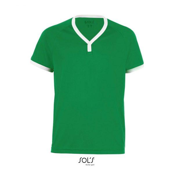 Camiseta Atletico Kids Niño Sols - Verde Flash / Blanco