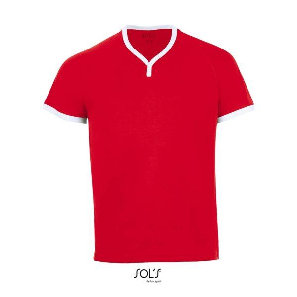 Camiseta Atletico Hombre Sols - Rojo / Blanco