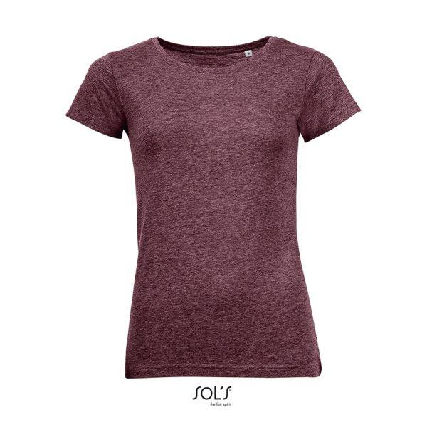 Camiseta Mixed Women Mujer Sols - Burdeos Jaspeado