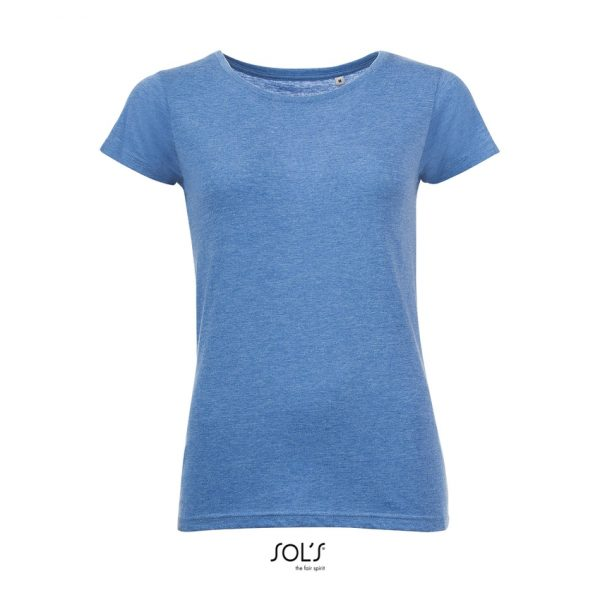 Camiseta Mixed Women Mujer Sols - Azul Jaspeado