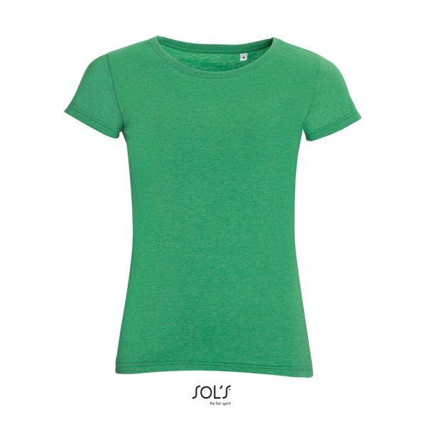 Camiseta Mixed Women Mujer Sols - Verde Moteado