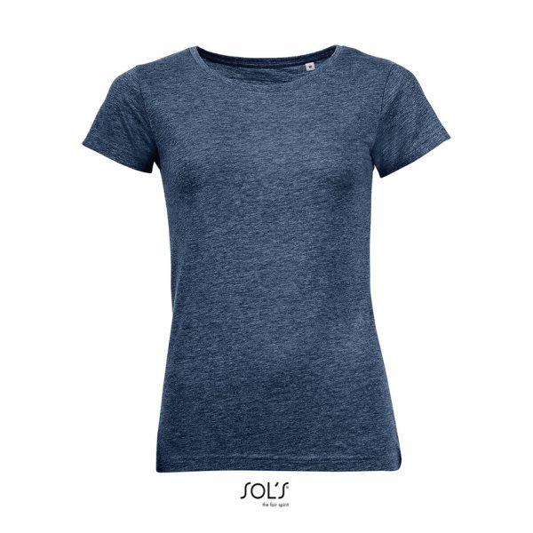 Camiseta Mixed Women Mujer Sols - Marino Jaspeado