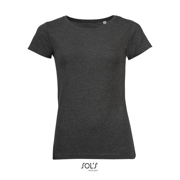 Camiseta Mixed Women Mujer Sols - Antracita Mezcla