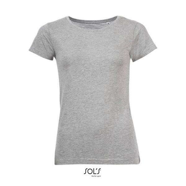 Camiseta Mixed Women Mujer Sols - Gris Mezcla