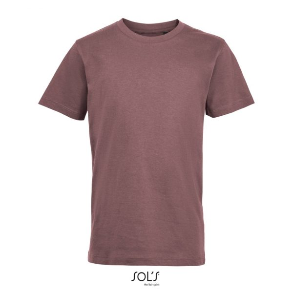 Camiseta Regent Fit Kids Niño Sols - Rosa Antiguo