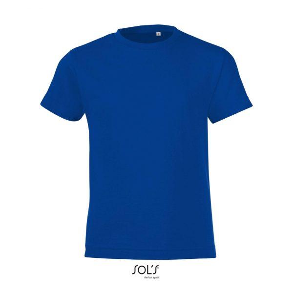 Camiseta Regent Fit Kids Niño Sols - Azul Royal
