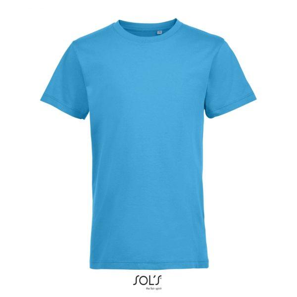 Camiseta Regent Fit Kids Niño Sols - Aqua