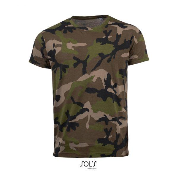 Camiseta Camo Men Hombre Sols - Camo