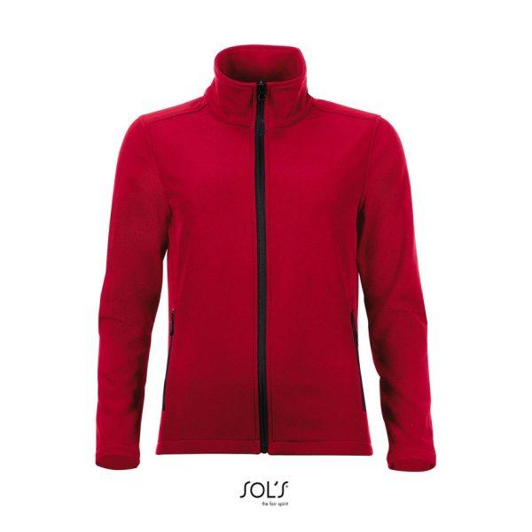 Softshell Race Women Mujer Sols - Rojo Chili