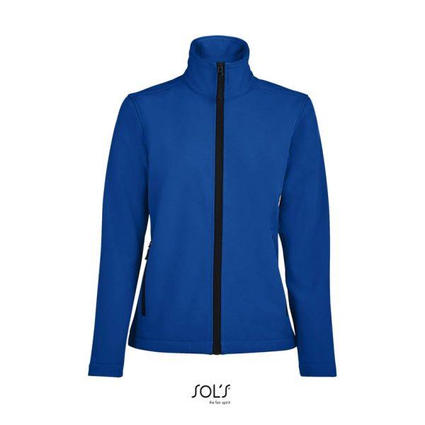 Softshell Race Women Mujer Sols - Azul Royal
