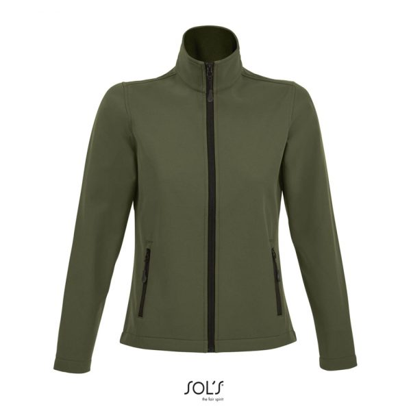 Softshell Race Women Mujer Sols - Army