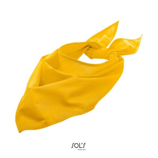 Bandana Bandana Unisex Sols - Amarillo