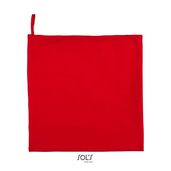 Toalla Atoll 50 Unisex Sols - Rojo