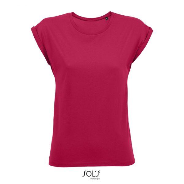 Camiseta Melba Mujer Sols - Rosa Oscuro