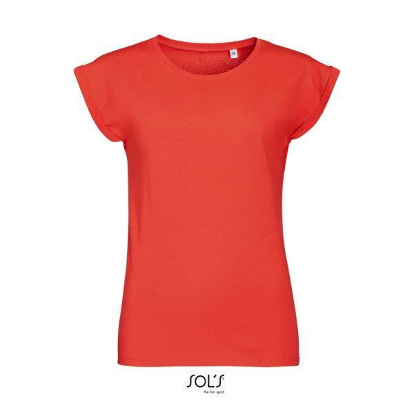Camiseta Melba Mujer Sols - Coral