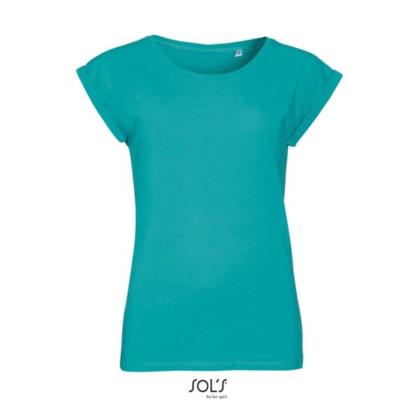 Camiseta Melba Mujer Sols - Azul Caribeño