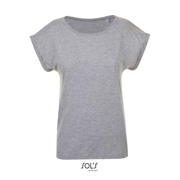 Camiseta Melba Mujer Sols - Gris Mezcla