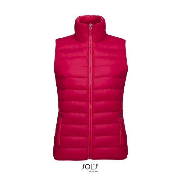 Chaleco Wave Women Mujer Sols - Rosa Oscuro