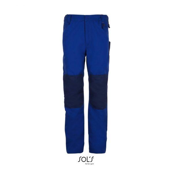 Pantalón De Trabajo Metal Pro Hombre Sols - Azul Bugatti / Pro Azul Marino