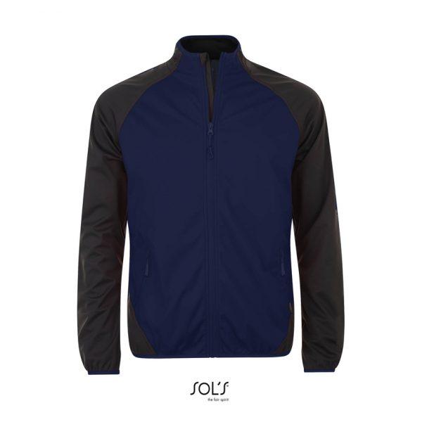 Softshell Rollings Men Hombre Sols - French Marino / Gris