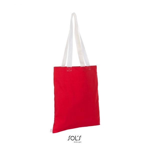 Bolsa Hamilton Mujer Sols - Rojo / Blanco