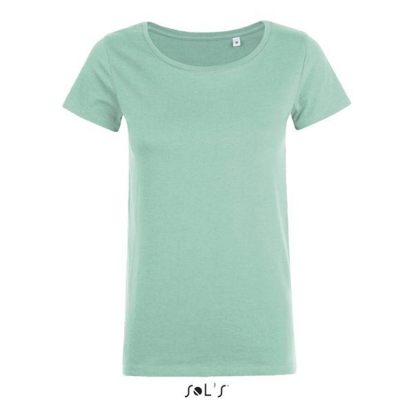 Camiseta Mia Mujer Sols - Menta