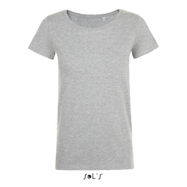 Camiseta Mia Mujer Sols - Gris Mezcla