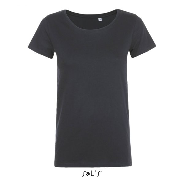 Camiseta Mia Mujer Sols - Gris Ratón