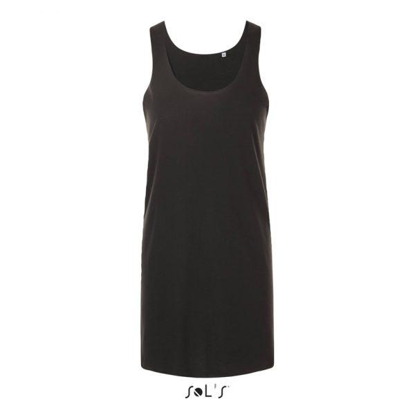 Vestido Cocktail Mujer Sols - Negro