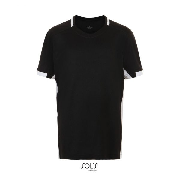 Camiseta Classico Kids Niño Sols - Negro / Blanco