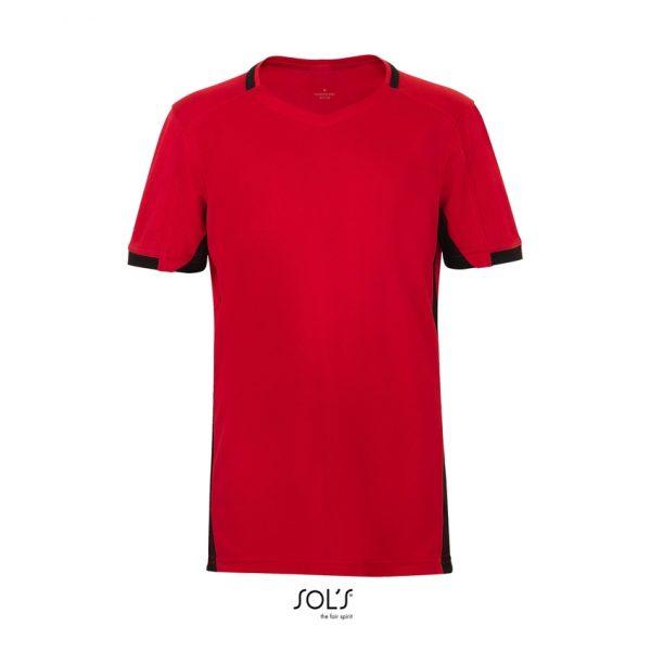 Camiseta Classico Kids Niño Sols - Rojo / Negro