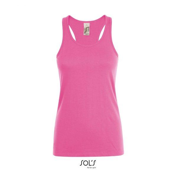 Camiseta Justin Women Mujer Sols - Rosa Orquídea