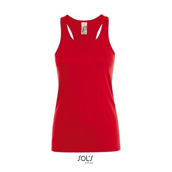Camiseta Justin Women Mujer Sols - Rojo
