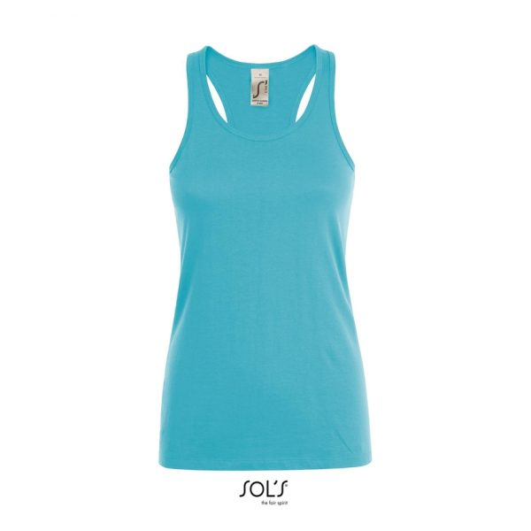 Camiseta Justin Women Mujer Sols - Azul Atolón