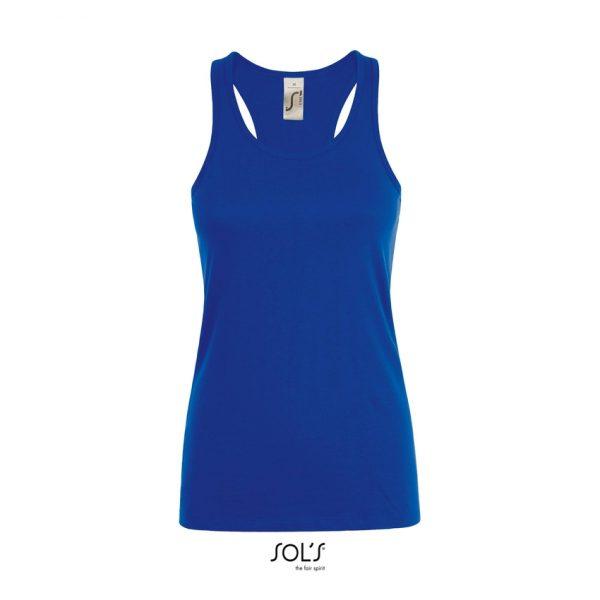 Camiseta Justin Women Mujer Sols - Azul Royal