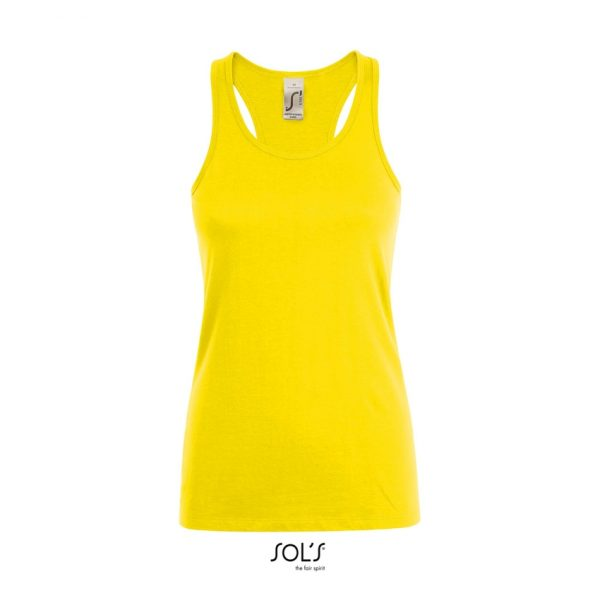 Camiseta Justin Women Mujer Sols - Limón