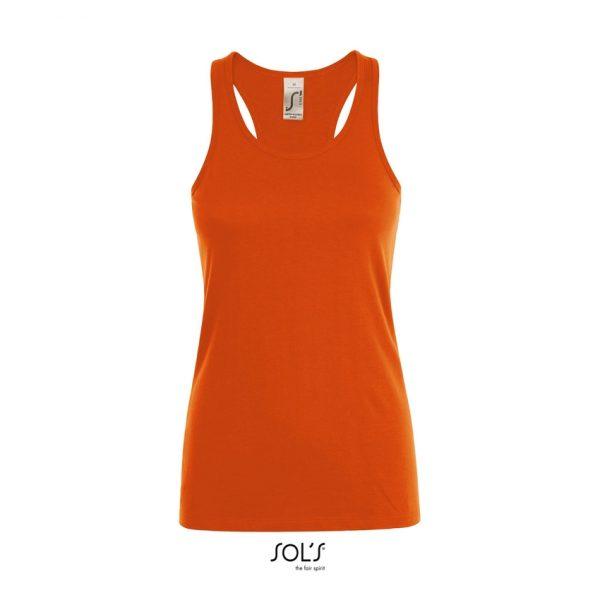 Camiseta Justin Women Mujer Sols - Naranja