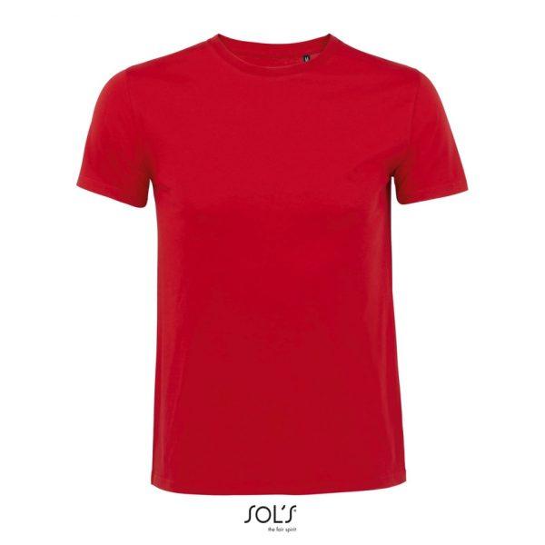 Camiseta Milo Men Hombre Sols - Rojo