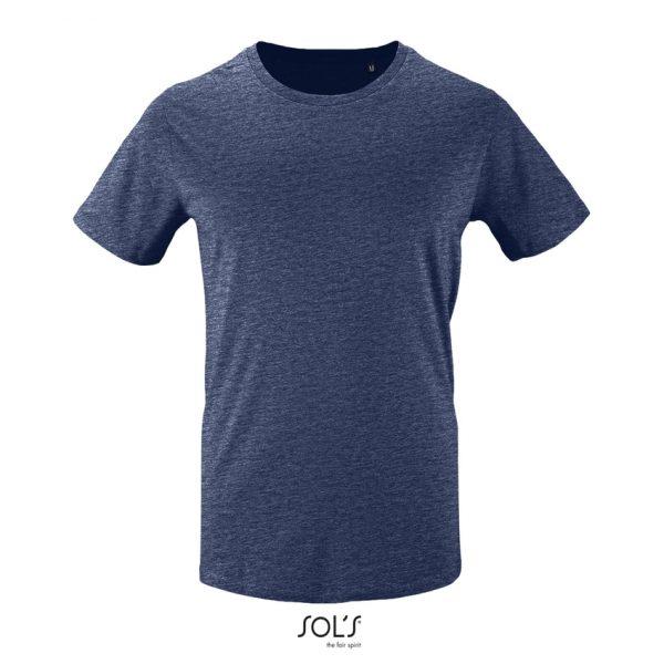 Camiseta Milo Men Hombre Sols - Denim Jaspeado