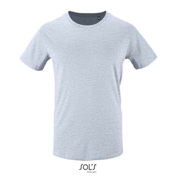 Camiseta Milo Men Hombre Sols - Azul Cielo Jaspeado