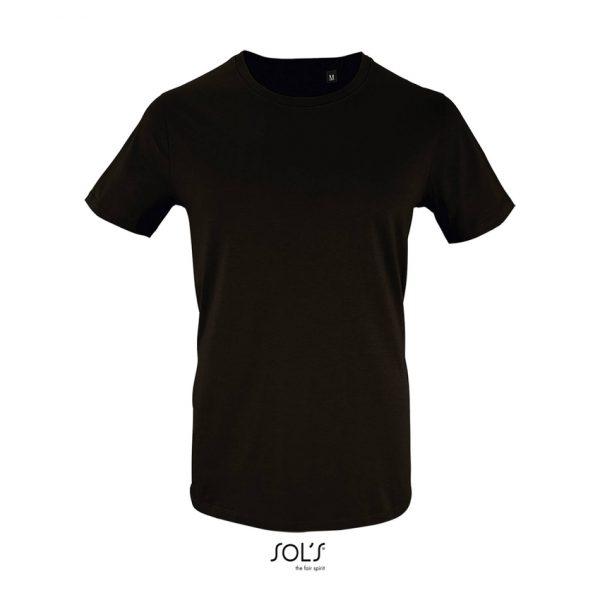Camiseta Milo Men Hombre Sols - Negro Profundo